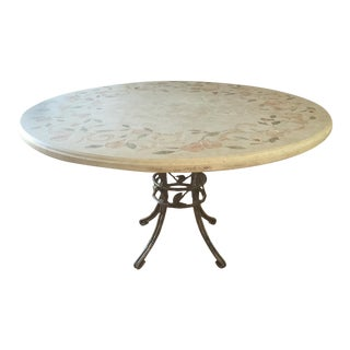 Ironies Mosaic Stone Dining Table