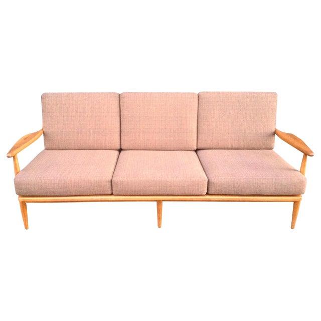 Conant Ball Mid-Century Pink Sofa - Image 1 of 8