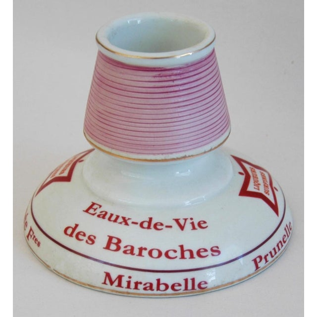 Early 1900s French Porcelain Match Striker & Holder - Image 9 of 10