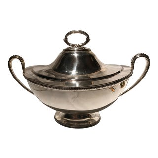 19th Century Silver Soup Tureen