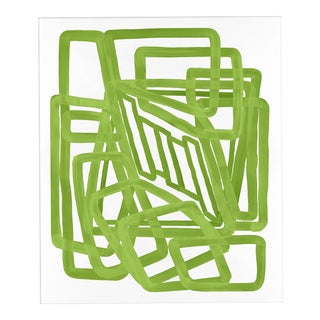 "'Lime Equation 1"" Print, Meg Braff for Wendover Art"