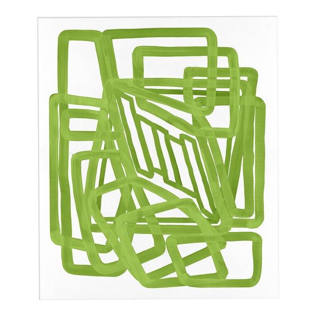 """'Lime Equation 1"""" Print, Meg Braff for Wendover Art - Image 1 of 3"""