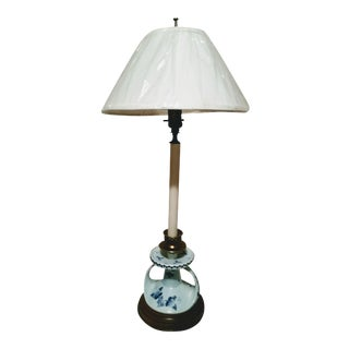 Vintage Deft Candle Stick Table Lamp