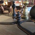 Image of Restoration Hardware Baroque Linen Ottomans - A Pair