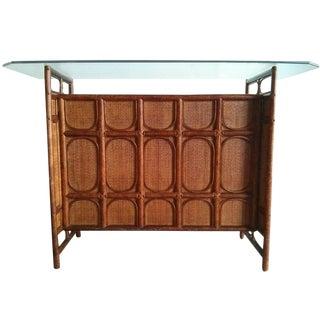 Vintage Bamboo Dry Bar