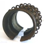 Image of Bronze African Baule Ivory Coast Currency Cuff