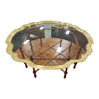 Baker Furniture Pie Crust Coffee Table