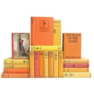 Sunset Colors Vintage Fiction - Set of 20