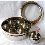 Image of 9-Spice Stainless Steel Masala Dabba Spice Box