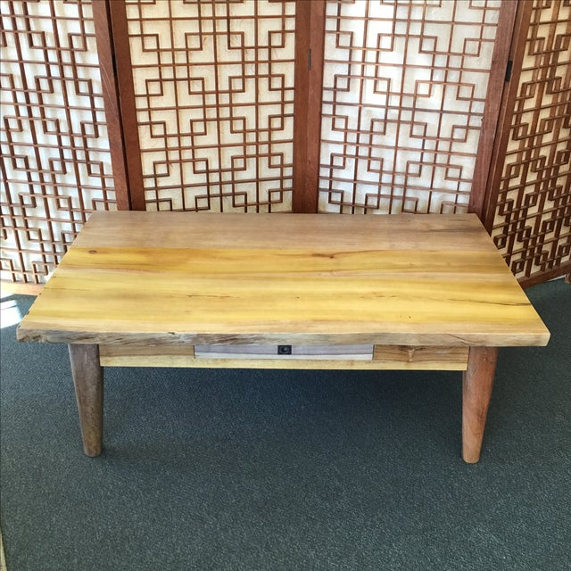 Salvaged Wood Cocktail Table - Image 2 of 10