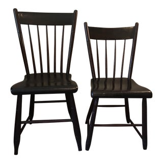 Craftsman Made Traditional Side Chairs - a Pair