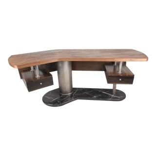 Mid-Century Modern Boomerang Desk