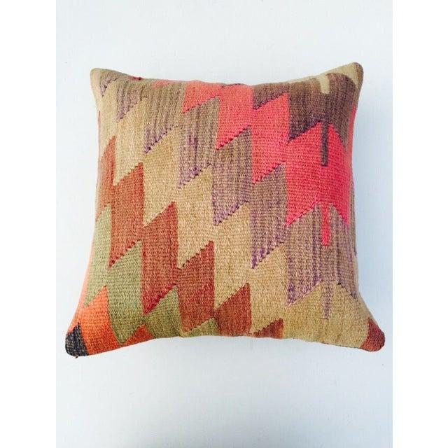 Vintage Turkish Kilim Pillow - Image 5 of 6