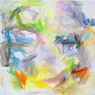 """""""Bondi Beach"""" Large Abstract Painting By Trixie Pitts"""