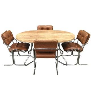 Jerry Johnson Style Dining Set - Set of 5