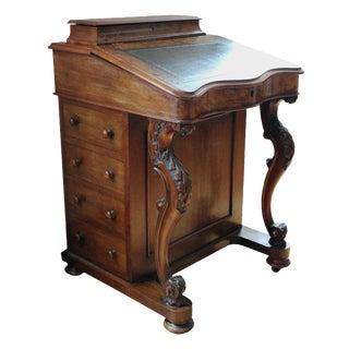 Victorian Davenport Writing Desk
