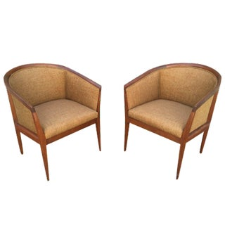 Rare Kipp Stewart Executive Chairs - A Pair