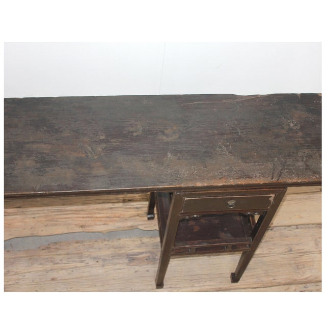 Antique Sarreid LTD Ming Style Console Table - Image 5 of 5