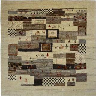 Primitive & Tribal Lori Wool Area Rug - 10' x 10'