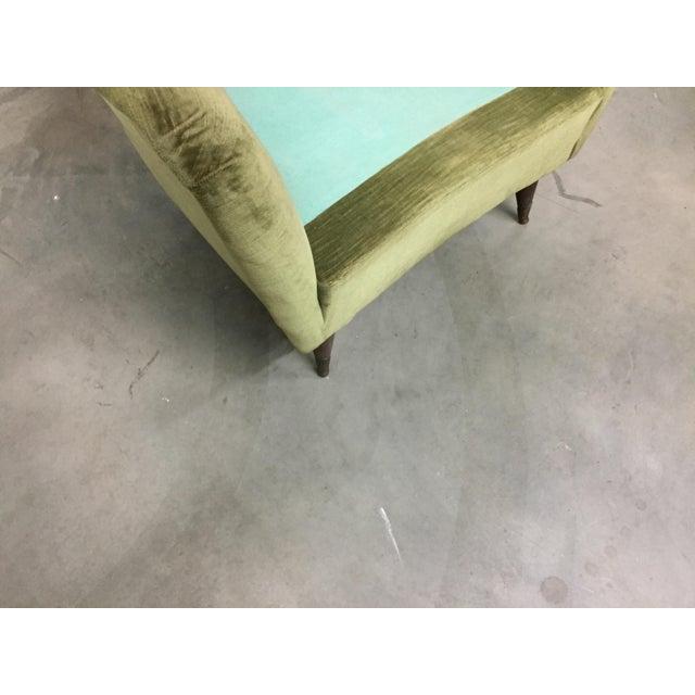 Italian Modern Lounge Chairs - Pair - Image 7 of 8