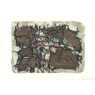 Jean Paul Riopelle, Composition X-160, 1966 Lithograph