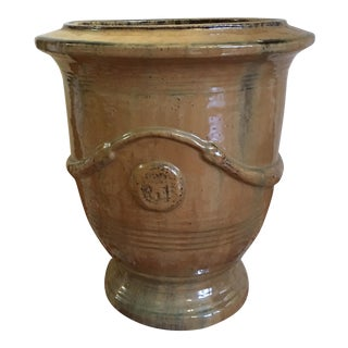 Olive Color Clay Pot