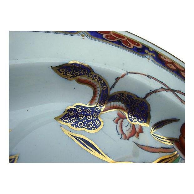 Antique Copeland Spode Imari Ironstone Meat Platter - Image 5 of 7