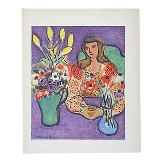Vintage Matisse Lithograph