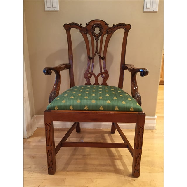 Chippendale Side Armchairs- A Pair - Image 2 of 7