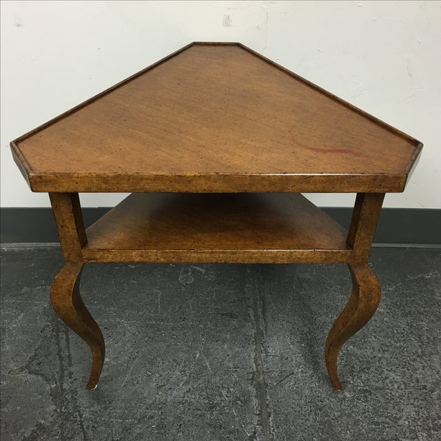 Minton-Spidell French Corner Side Table - Image 9 of 9