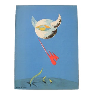 Original Lithograph - Andre Masson The Moon