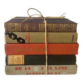 Clothbound Vintage Novels - Set of 5