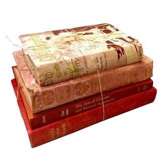 Vintage Etiquette Books - Set of 4