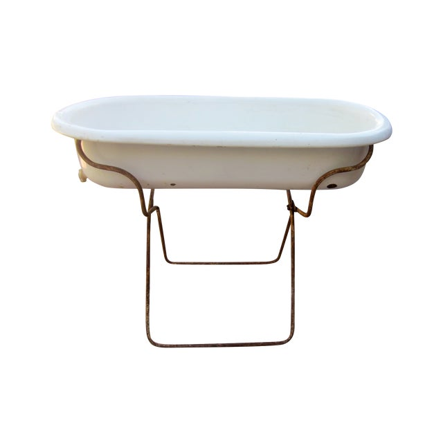 Authentic European Bathtub Chairish