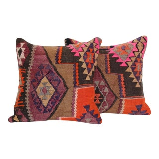 Turkish Kilim Cushions - Pair