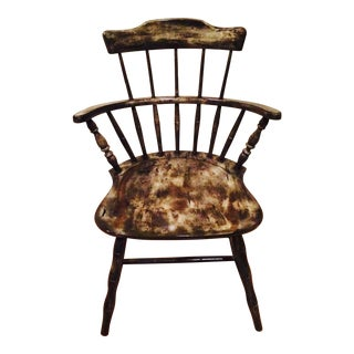Nichols & Stone Spindle Barrel Back Chair