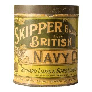 Lloyd's Skipper Brand British Navy Cut Tobacco Tin