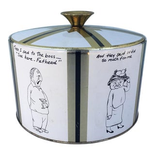 Fabcraft William Box Cartoon Ice Bucket
