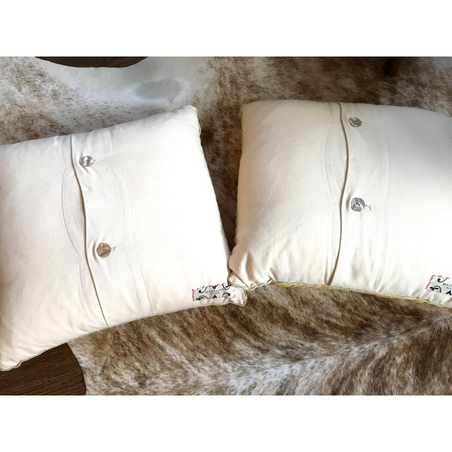 Image of Madeline Weinrib Blockprint Pillows - A Pair