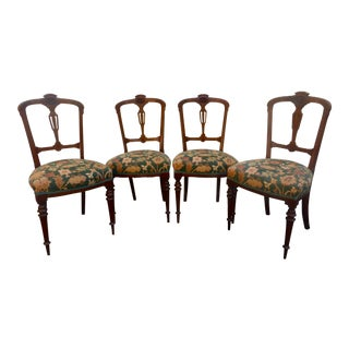 Antique French Dining Chairs - Set of 4