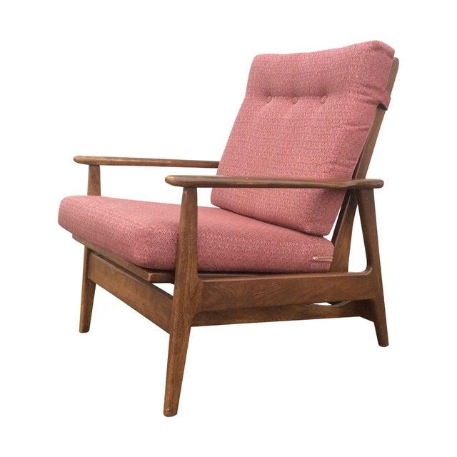 1960s Danish Modern Rocking Lounge Chair - Image 1 of 8