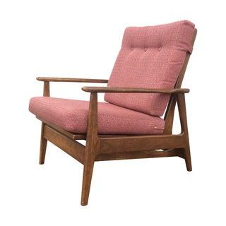1960s Danish Modern Rocking Lounge Chair