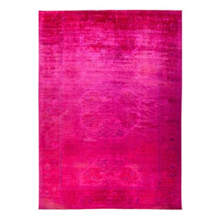"""Vibrance, Hand Knotted Area Rug - 10'1"""" X 14'"""