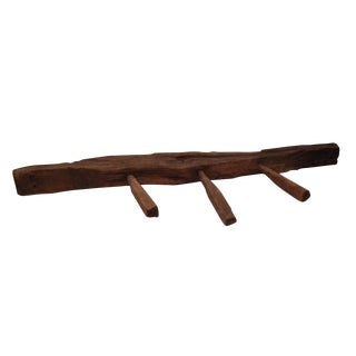Primitive Coat Rack