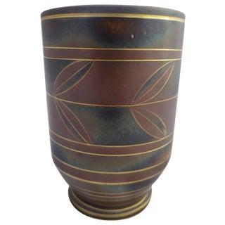 Swedish Bud Vase by Gunnar Nyland C. 1930's