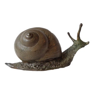 William H. Turner Bronze Snail