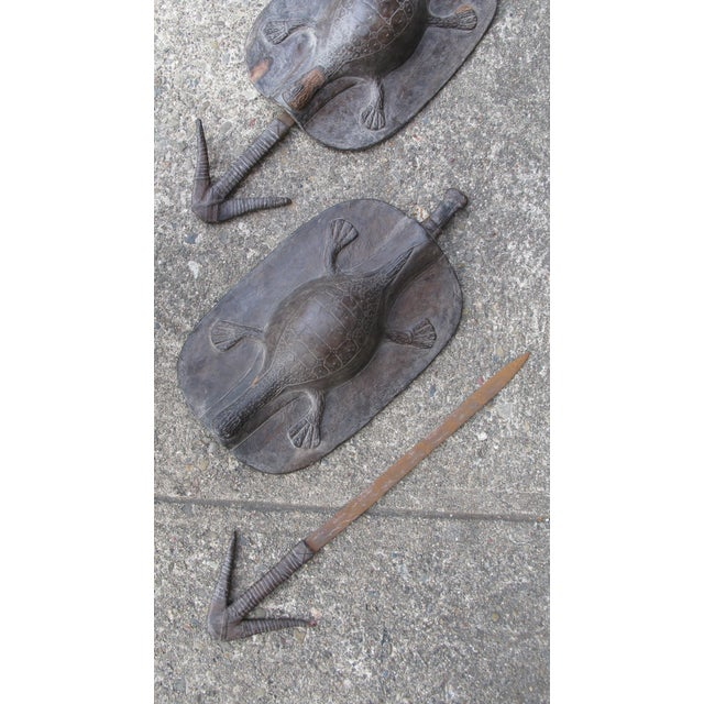 Image of Pair of African Shields