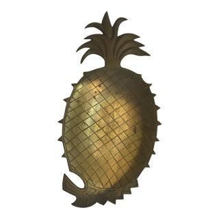 Vintage Brass Pineapple Tray