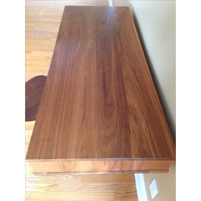 Image of Room & Board Ellis Desk in Walnut