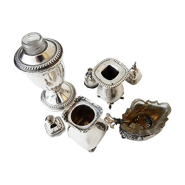 Image of Salt & Pepper Shakers & Containers - 5 Pieces